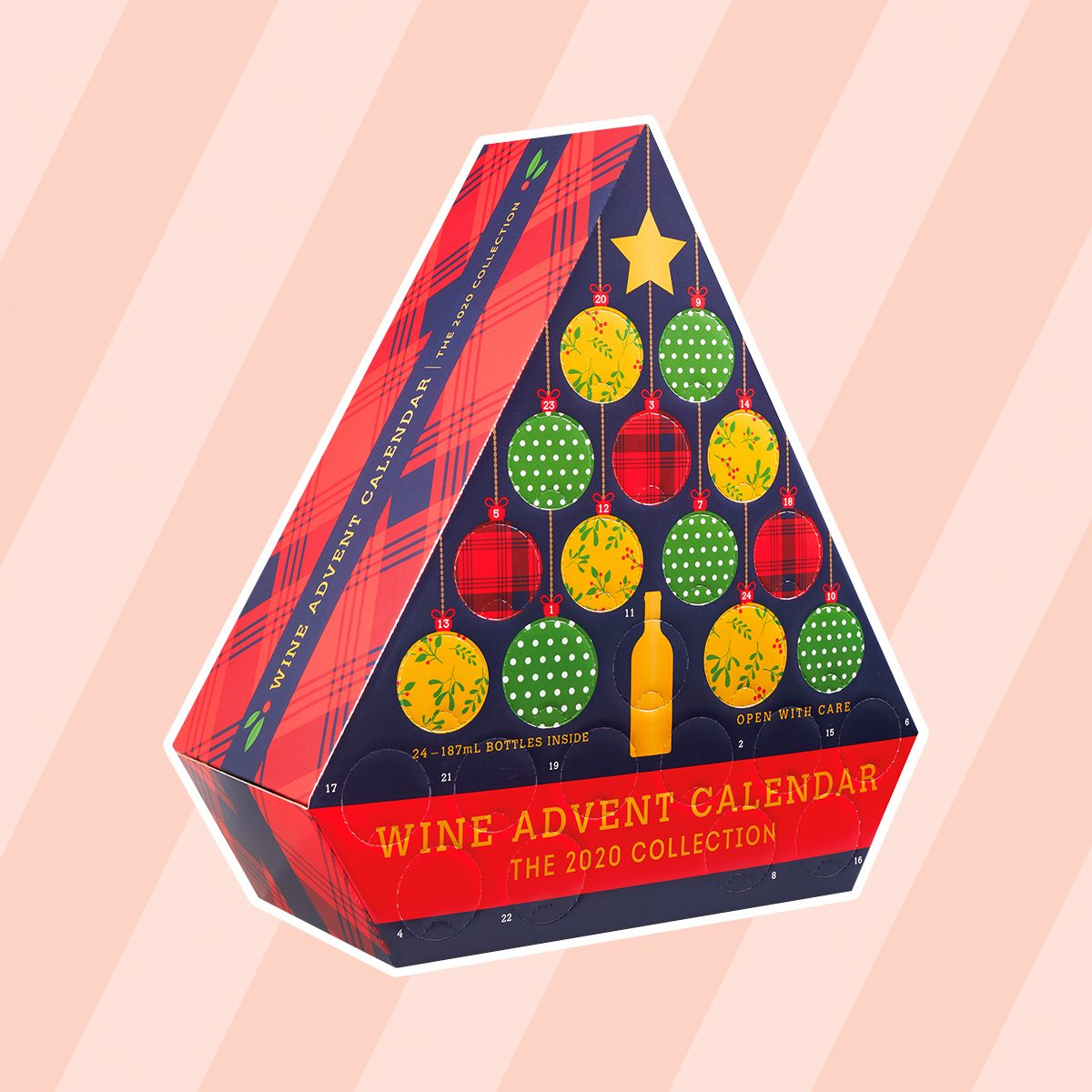 Wine advent calendar from Aldi