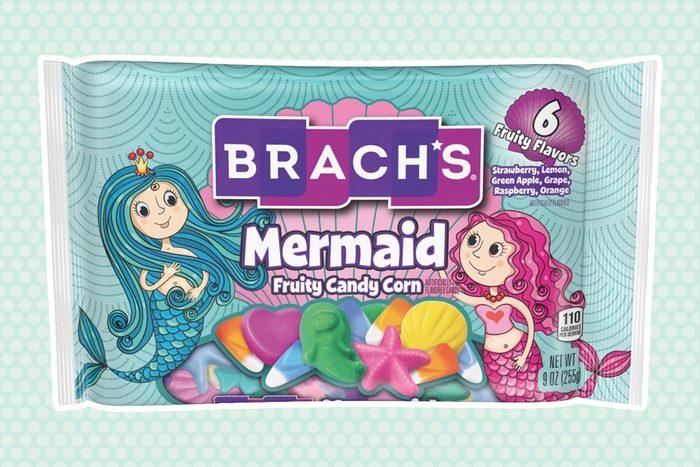 Brach's Mermaid Fruity Candy Corn 6 Fruity Flavors 9oz