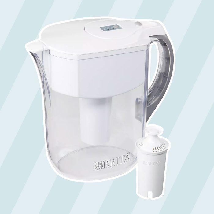 Brita Grand 10-Cup BPA Free Water Pitcher