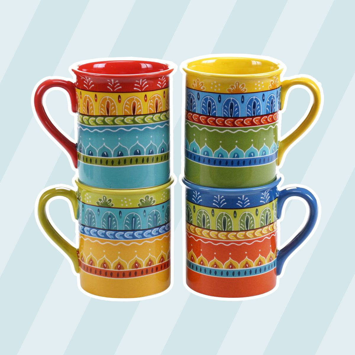 Valencia 16 oz. Mug (Set of 4)