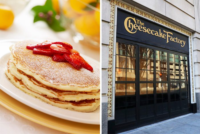 Cheesecake Factory Lemon Ricotta Pancakes