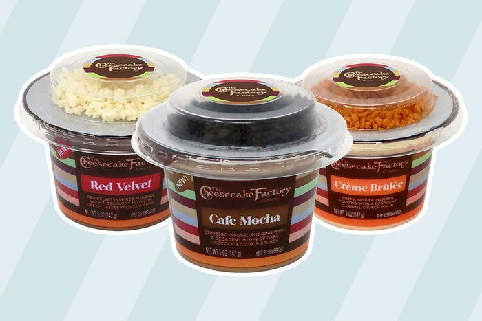 new Cheesecake Factory Single-Serve Pudding Cups With Toppings