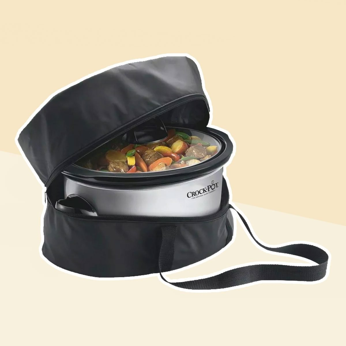 Crock-Pot Slow Cooker Travel Bag, Black, SCBAG-NP