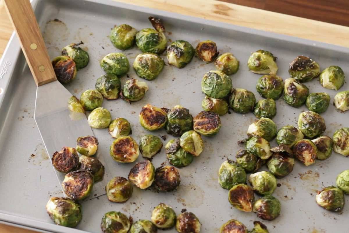 How to cook brussel sprouts: roast