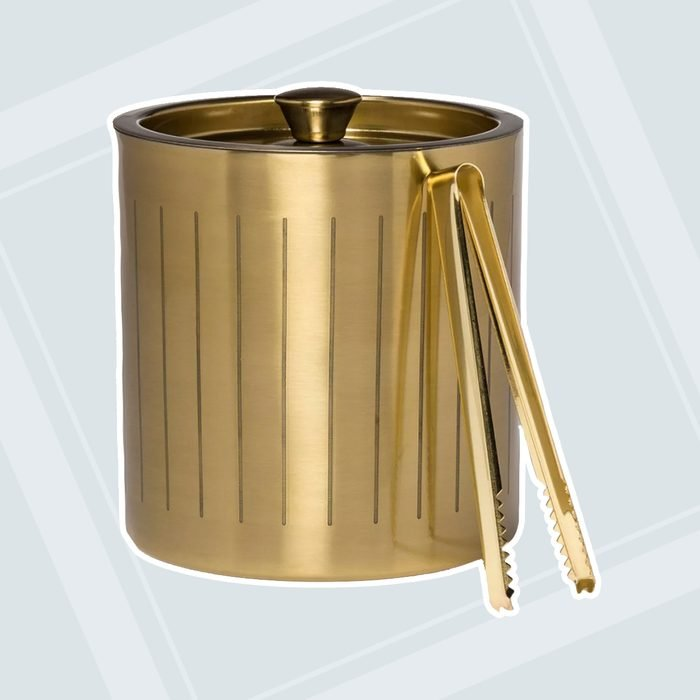 3L Stainless Steel Ice Bucket with Tongs Gold - Project 62™