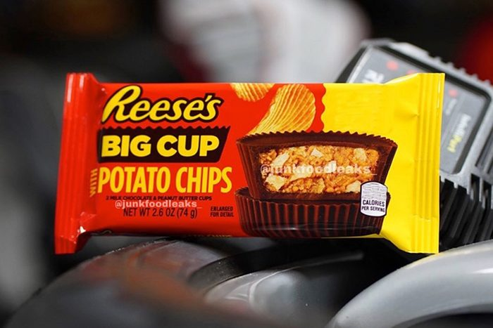 Reese's Big Cup with Potato Chips