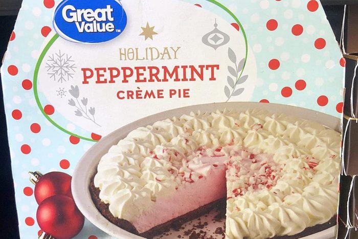 Walmart holiday peppermint creme pie