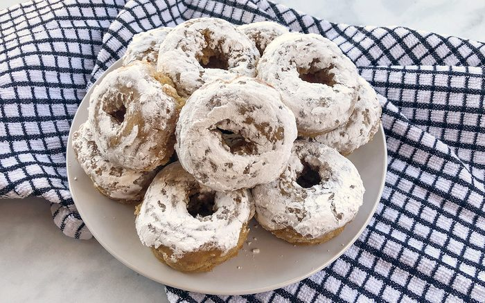 Baked and Decorated Doughnuts