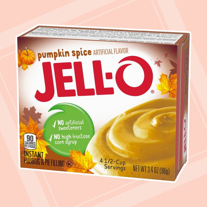 Jell O Pumpkin Spice Instant Pudding & Pie Filling Mix
