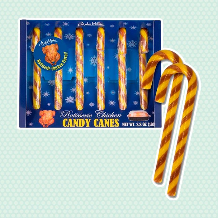 Archie McPhee Rotisserie Chicken Candy Canes