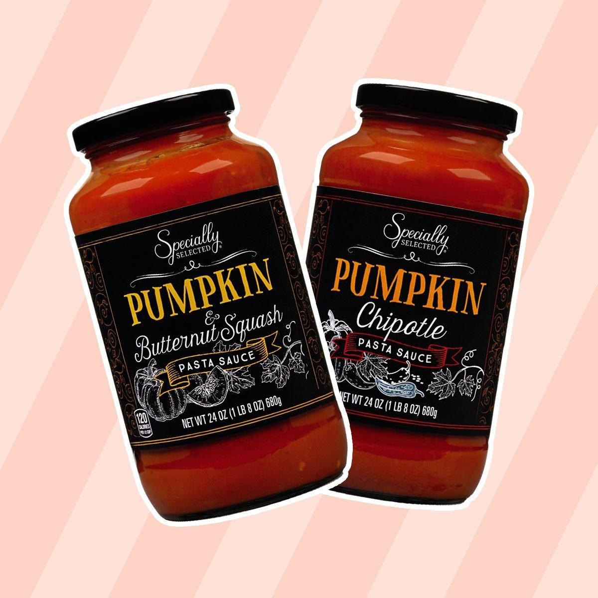 Pumpkin & Butternut Squash and Pumpkin Chipotle Pasta Sauce