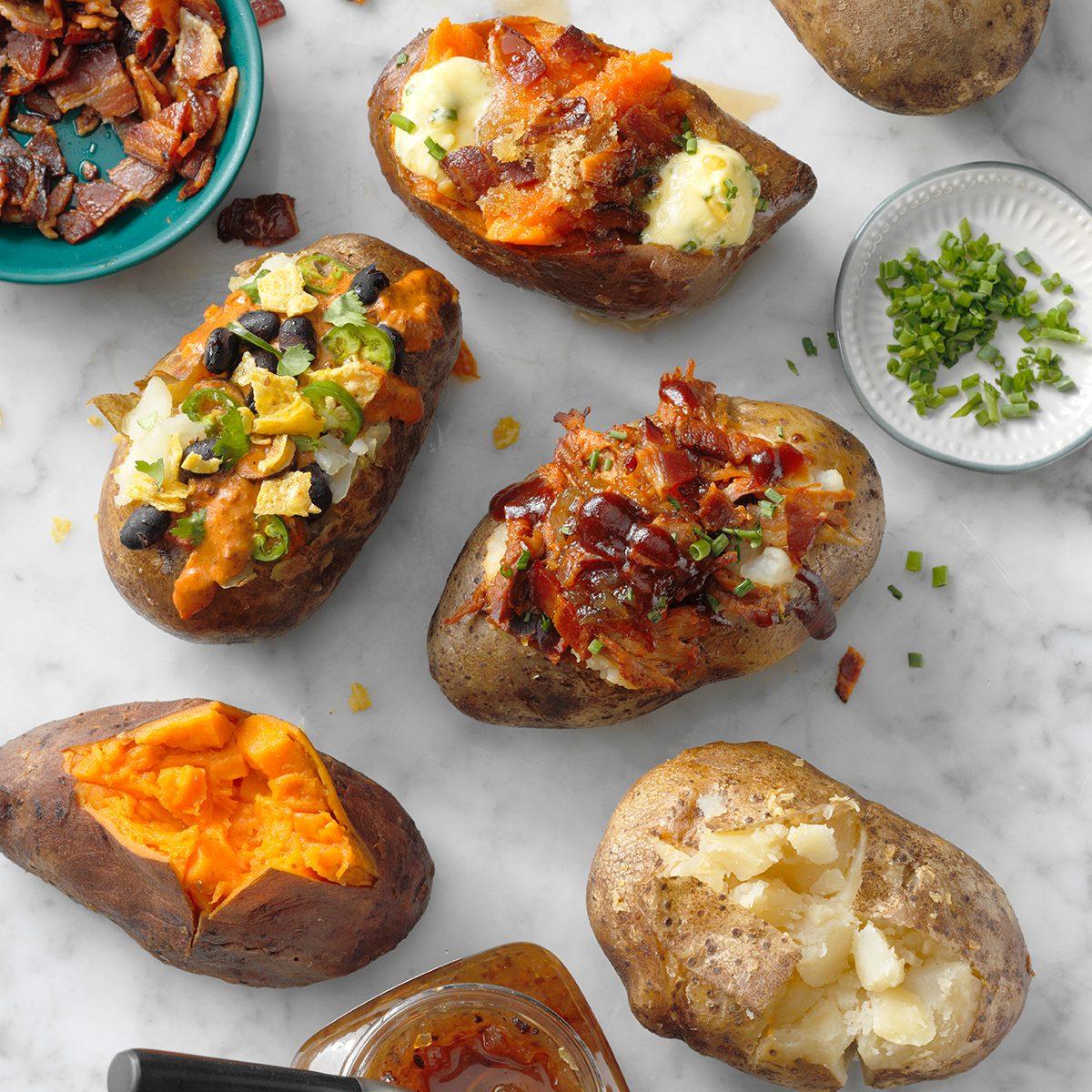 baked potato bar toppings