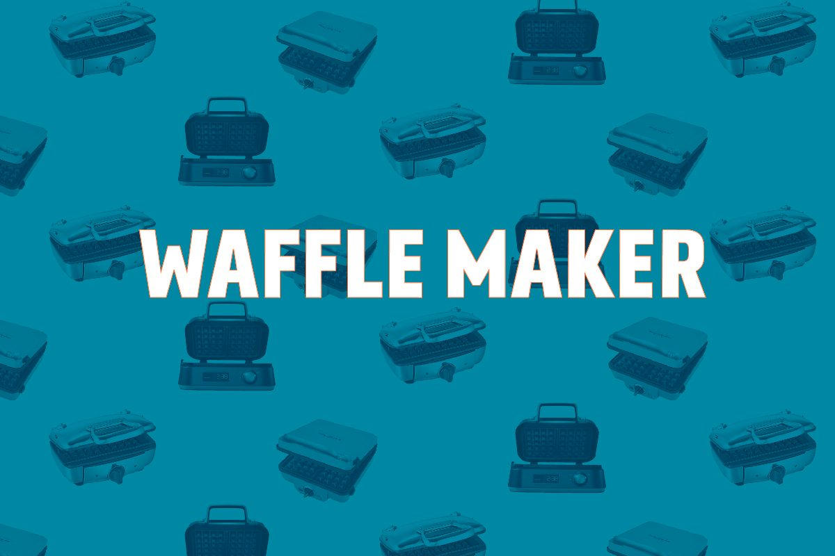 Test Kitchen Preferred Best Waffle Maker crop