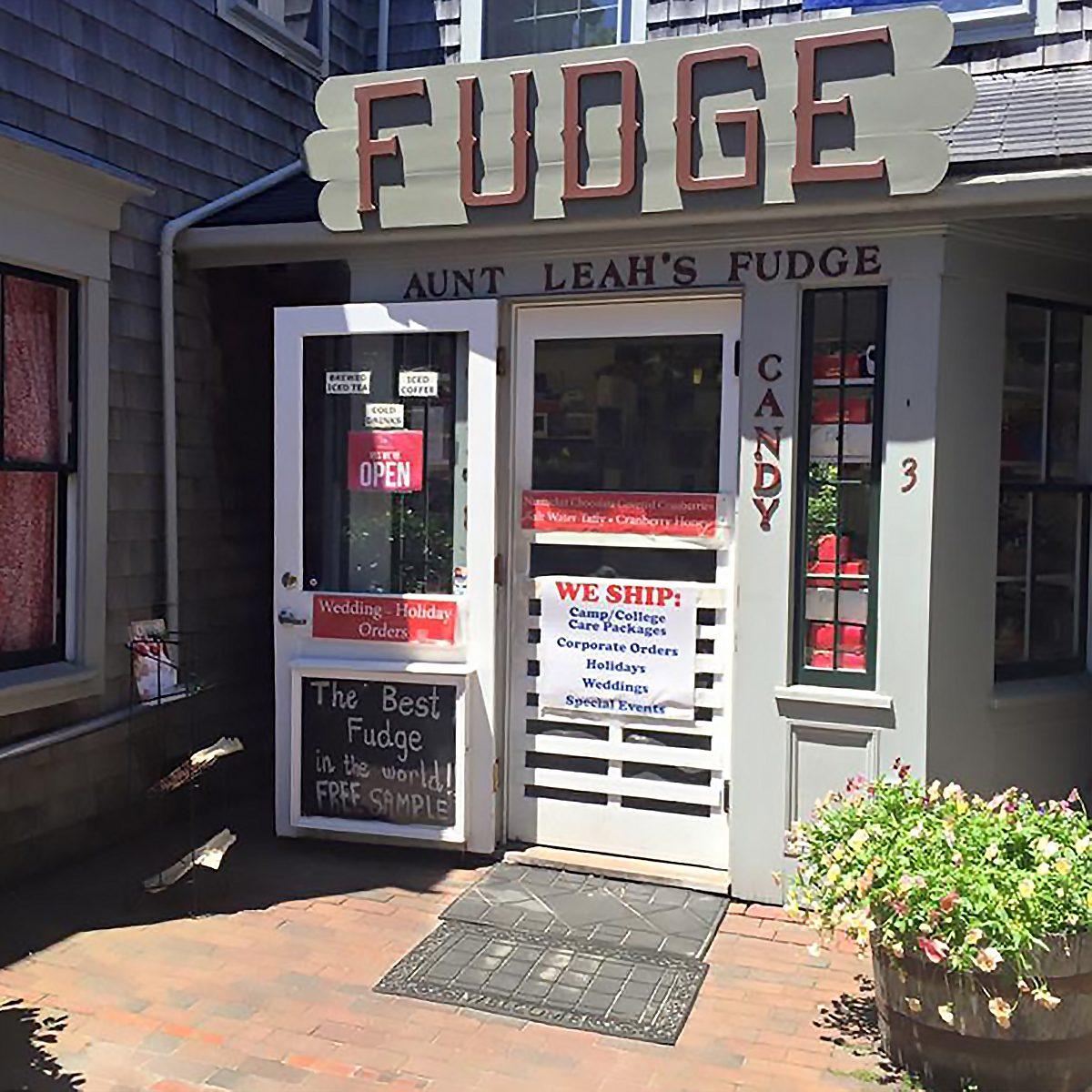 The Best Fudge Shop in Rhode Island - Aunt Leah's Fudge