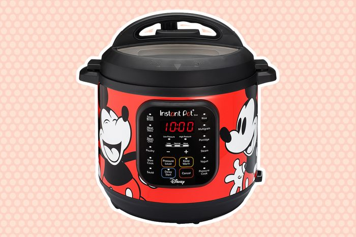 Instant Pot Duo 7-in-1 Electric Pressure Cooker 6Qt, Disney Mickey Mouse crop