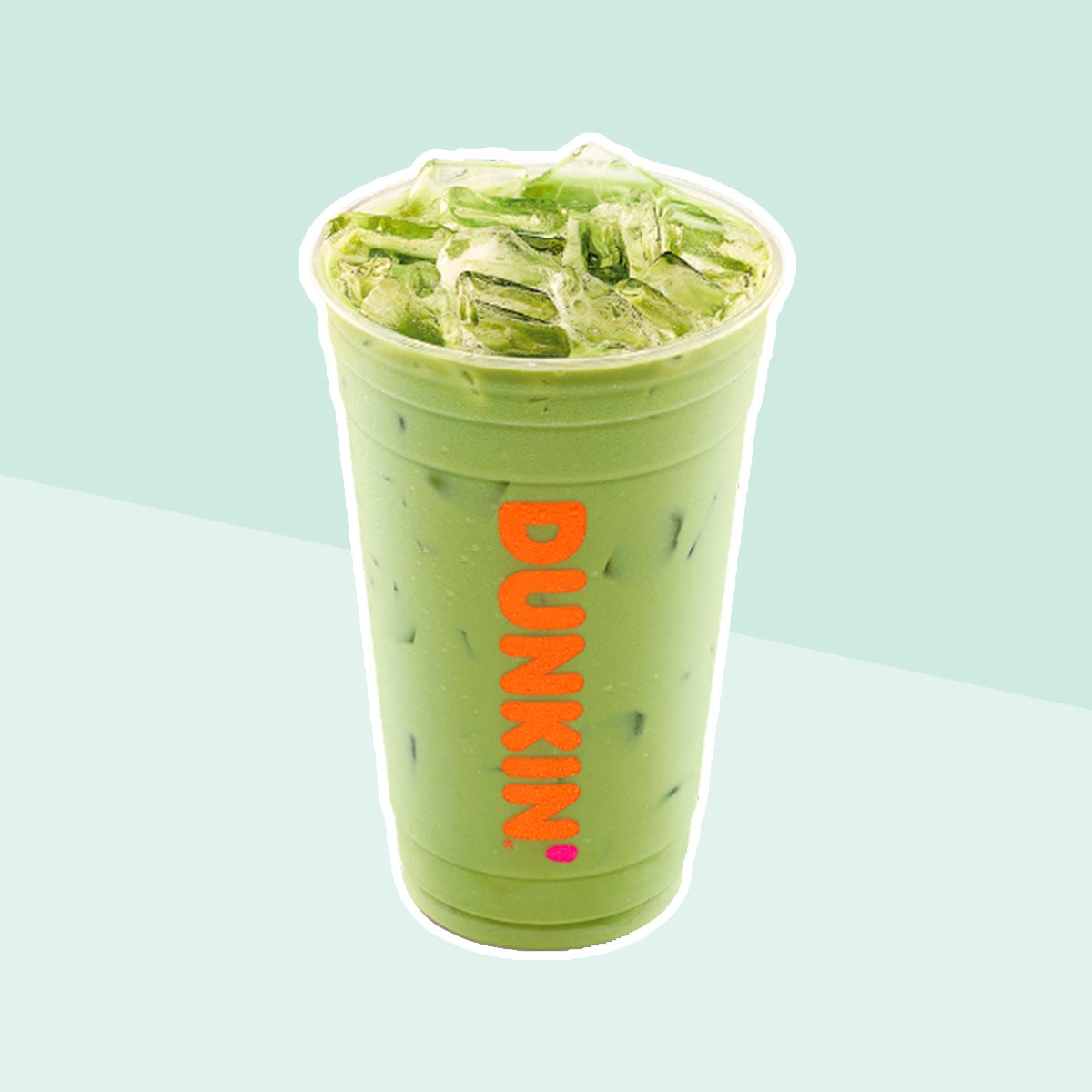 ICED MATCHA LATTE from Dunkin Donuts