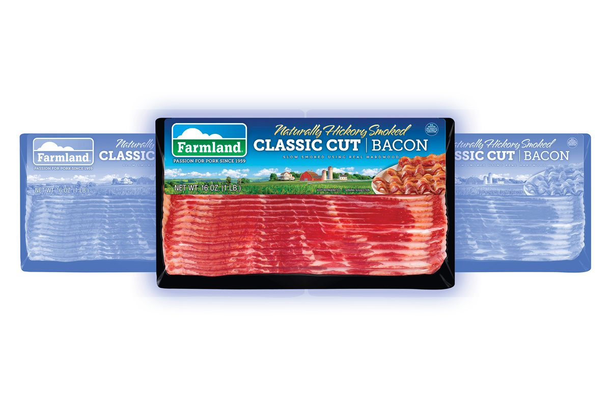 Farmland Naturally Hickory Smoked Classic Cut Bacon, 16 oz