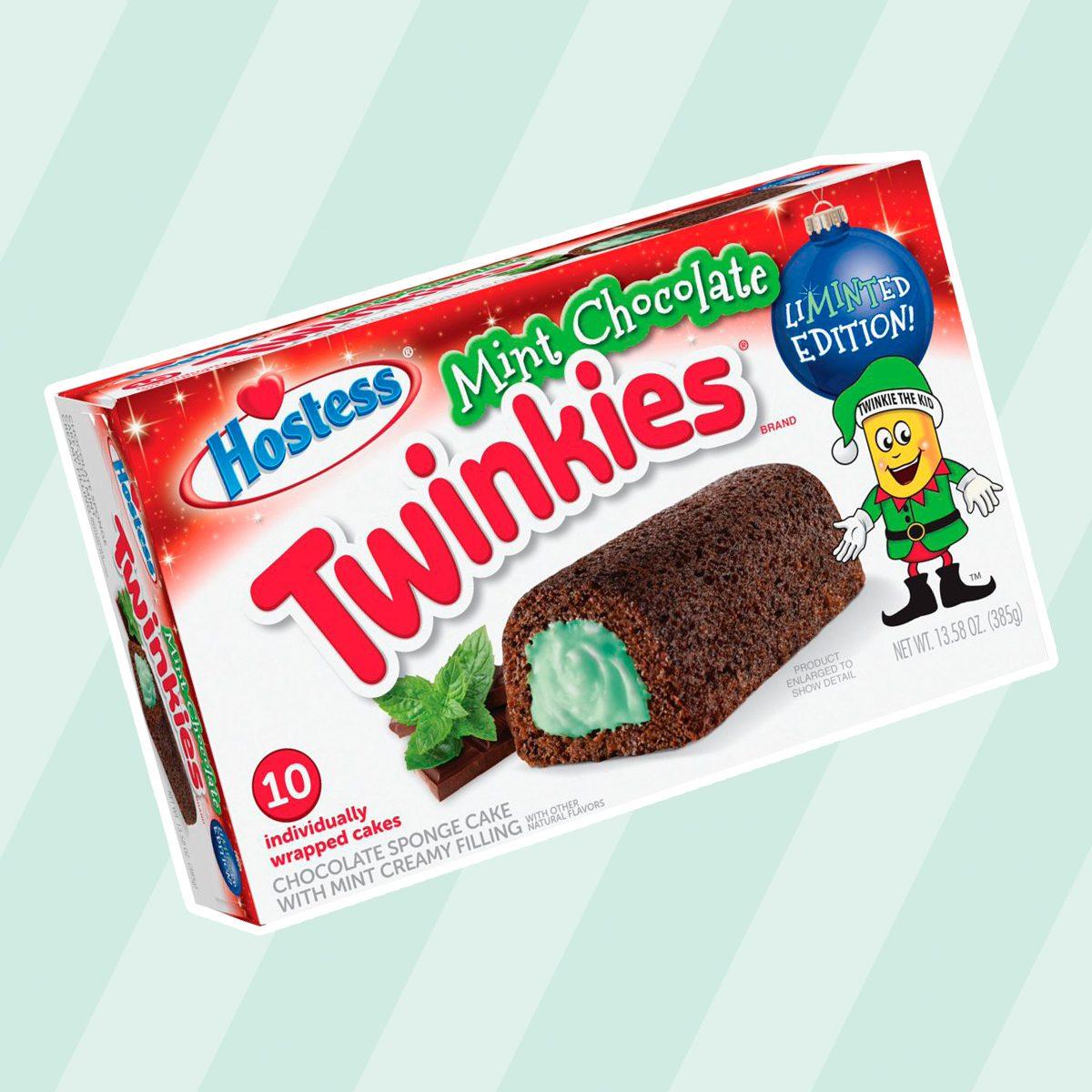 Hostess Hst Merry Mint Choc Cake Twinkie 10ct Mp
