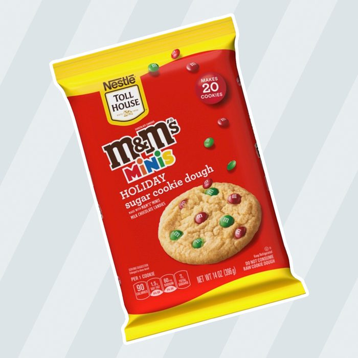 NESTLÉ® TOLL HOUSE® M&M'S® Minis Holiday Cookie Dough