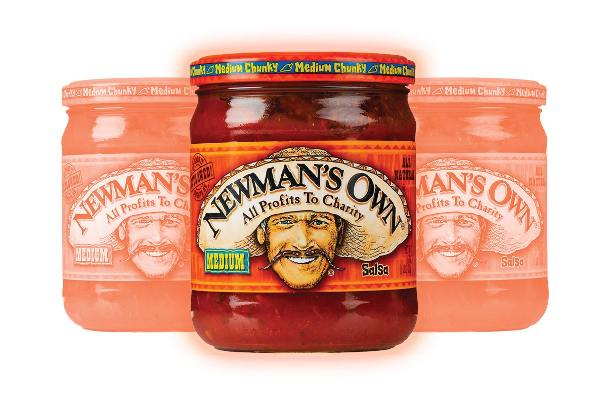 Newman's Own Salsa, Medium Chunky, 16 Oz
