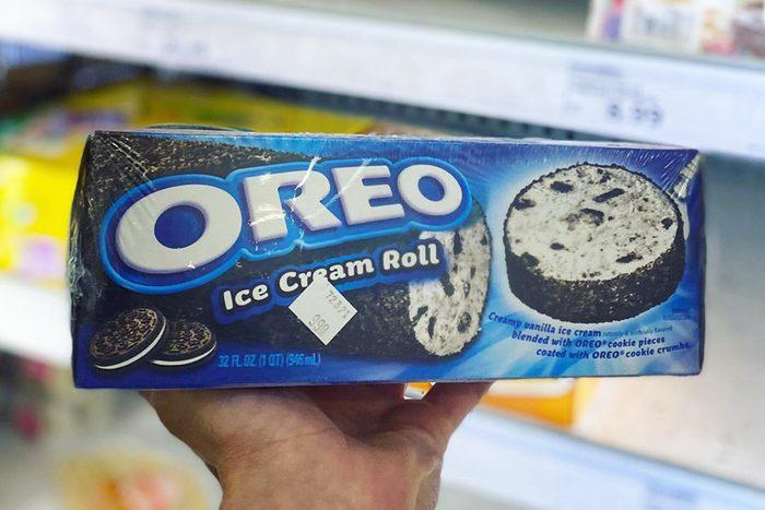 Oreo Ice cream roll from Meijer