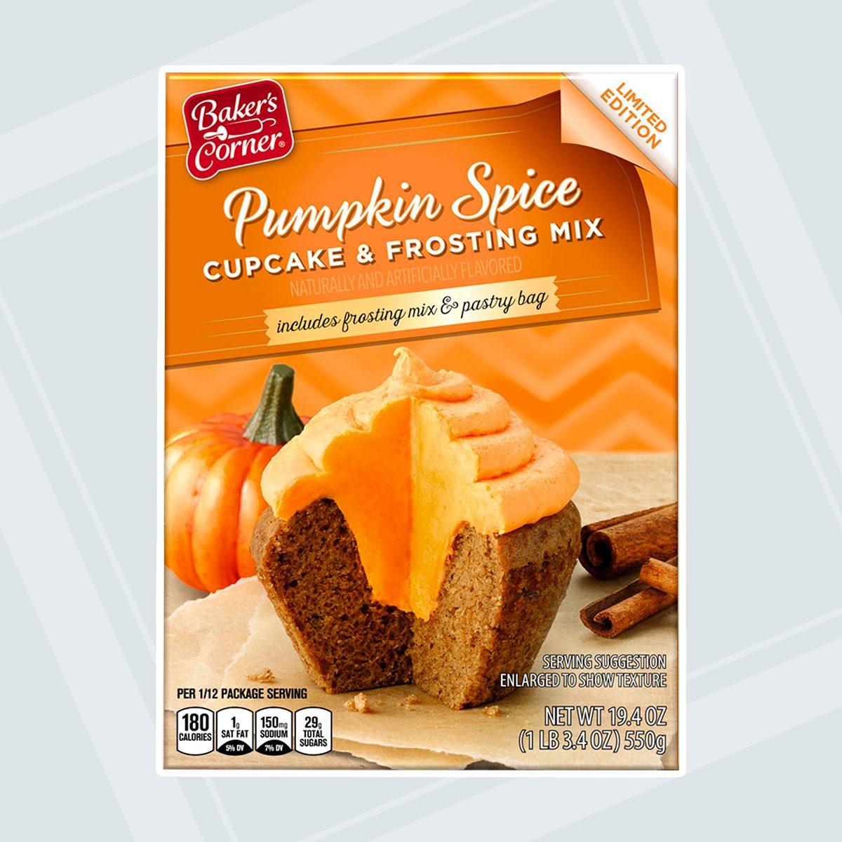 Aldi Pumpkin Spice Cupcake Mix