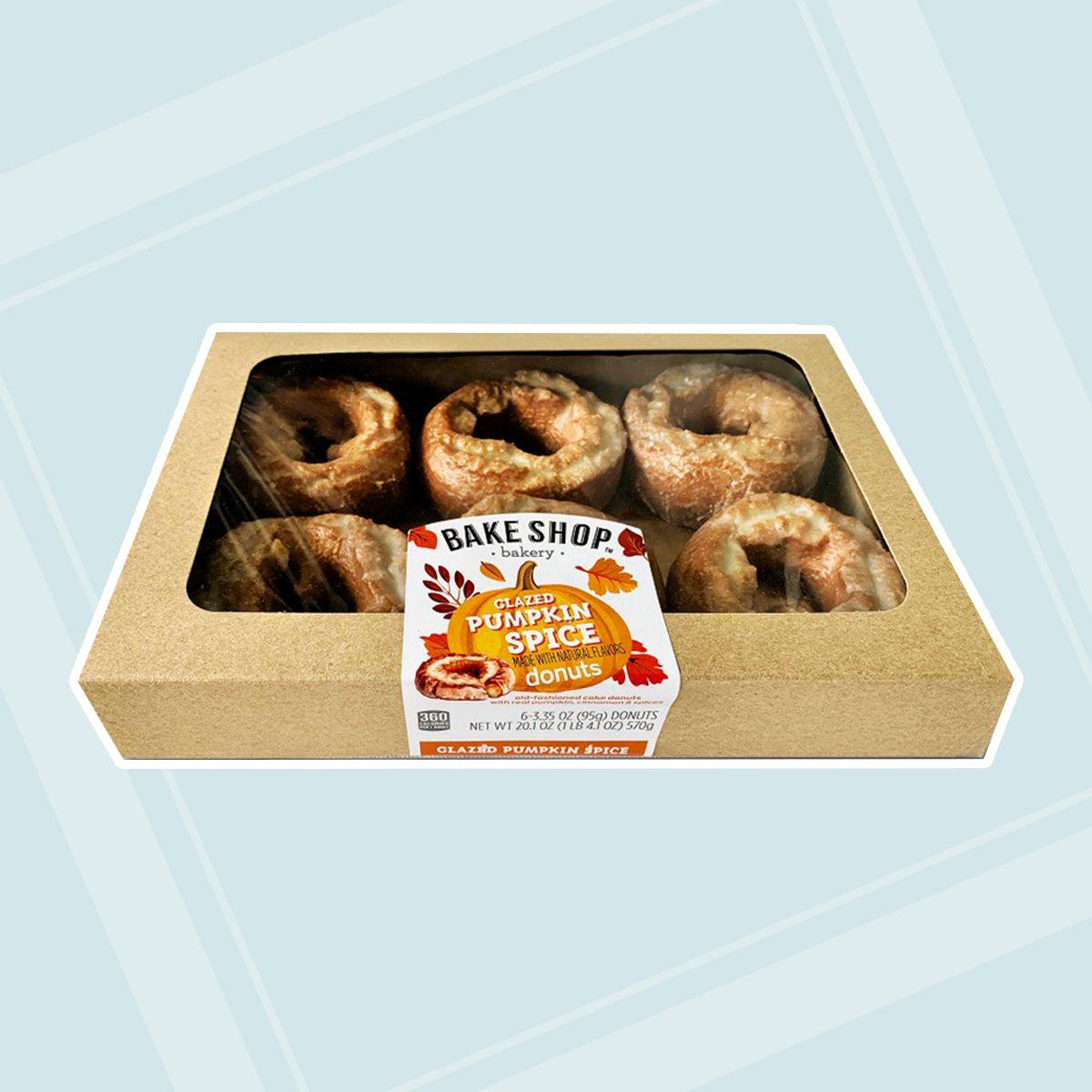 Aldi Bake Shop Pumpkin donuts