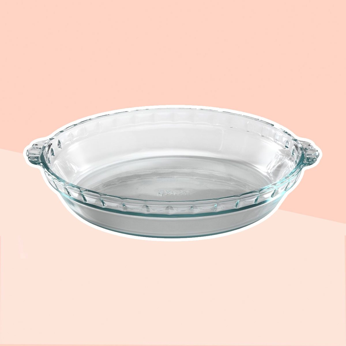 "Pyrex® 9.5"" Glass Pie Plate"
