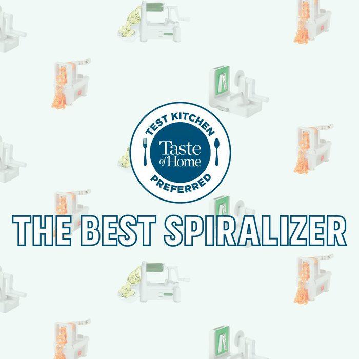 Test Kitchen Preferred The Best spiralizer