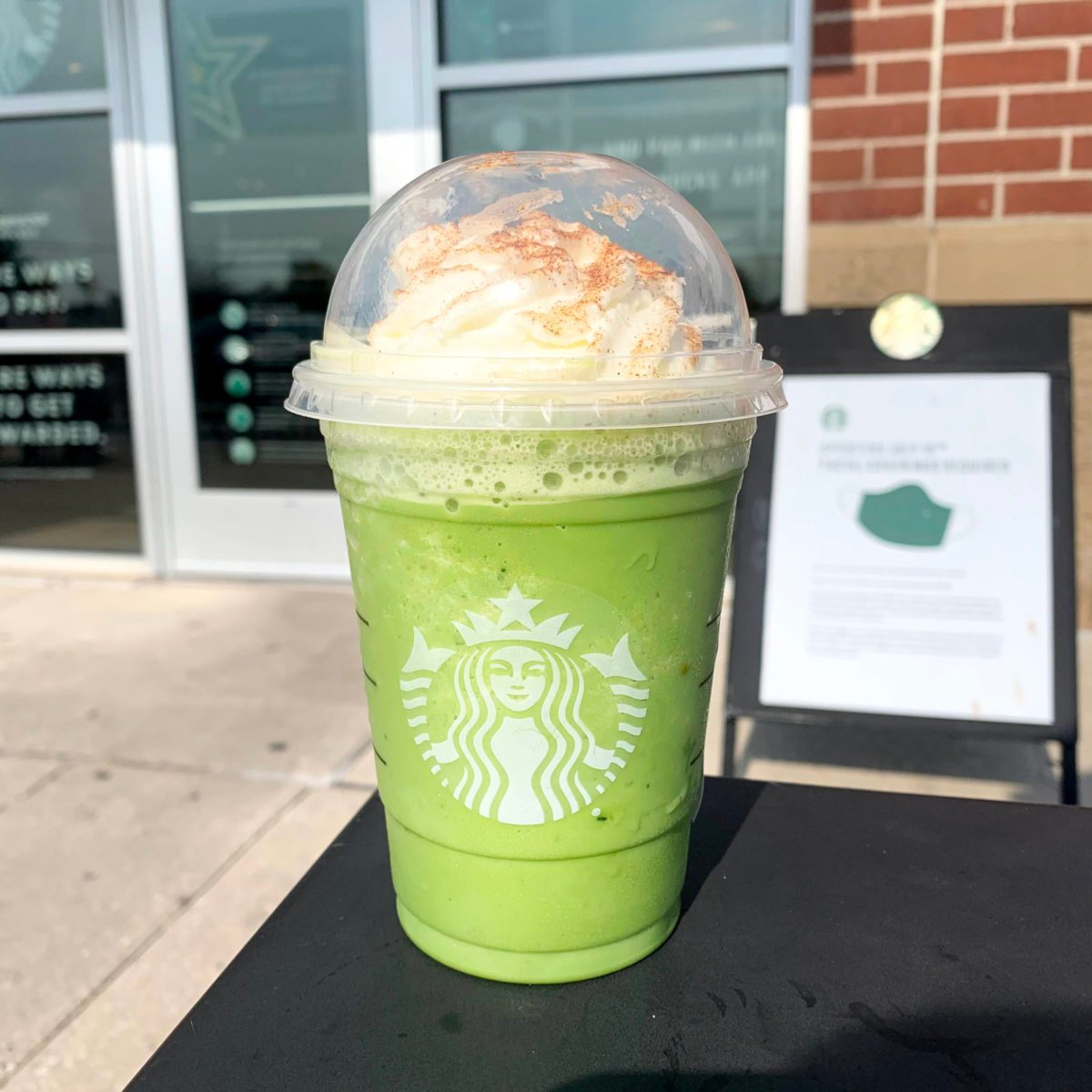 Buddy the Elf frappuccino from starbucks