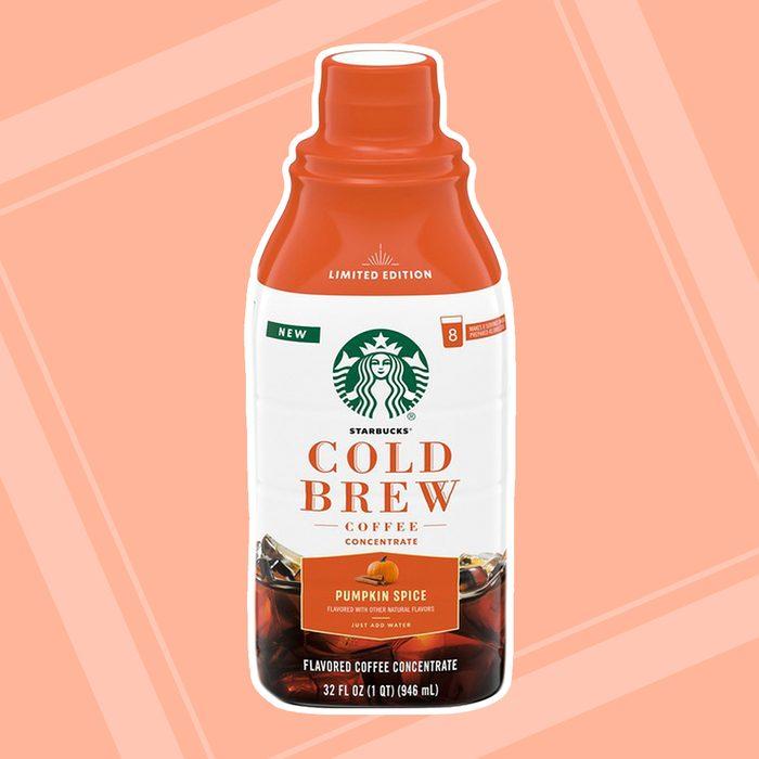 Starbucks Pumpkin Spice Cold Brew Bottle
