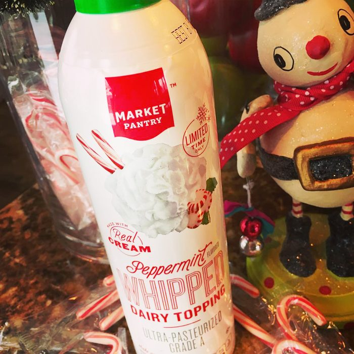 Target peppermint whipped cream