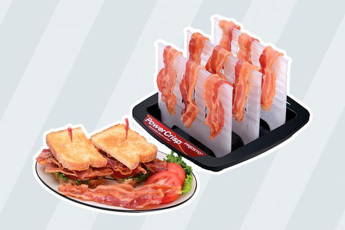 Presto PowerCrisp® microwave bacon cooker