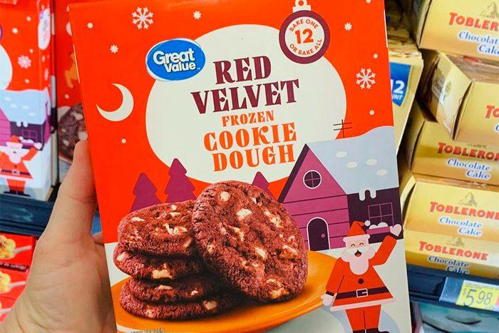 Walmart Great Value Red Velvet Cookie Dough
