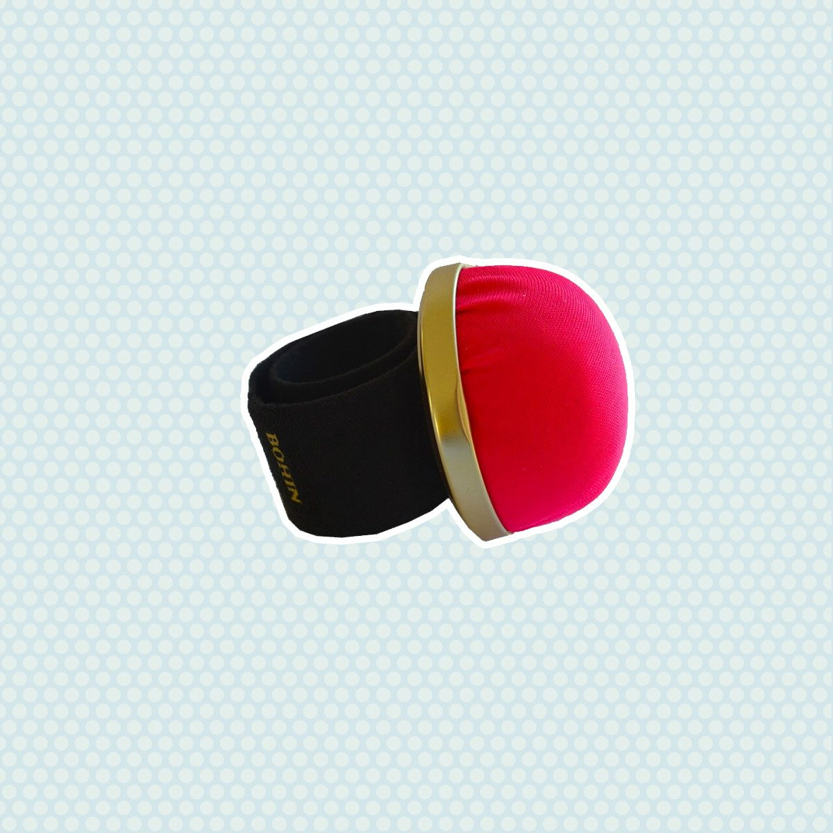 Bohin Pin Cushion with Adjustable Snap Bracelet
