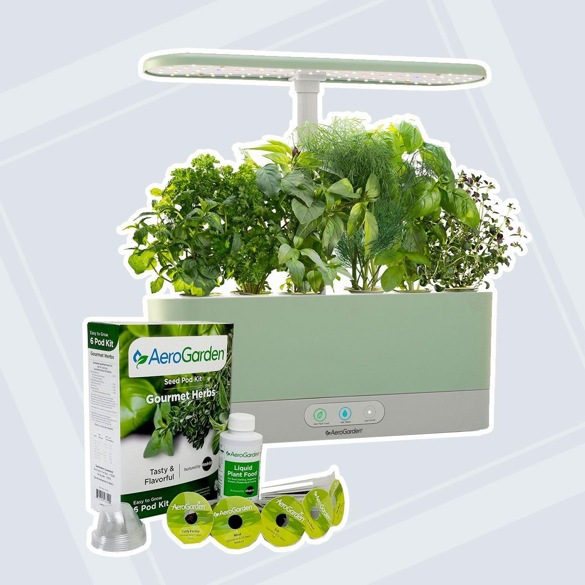 Harvest Slim with Gourmet Herbs Seed Pod Kit