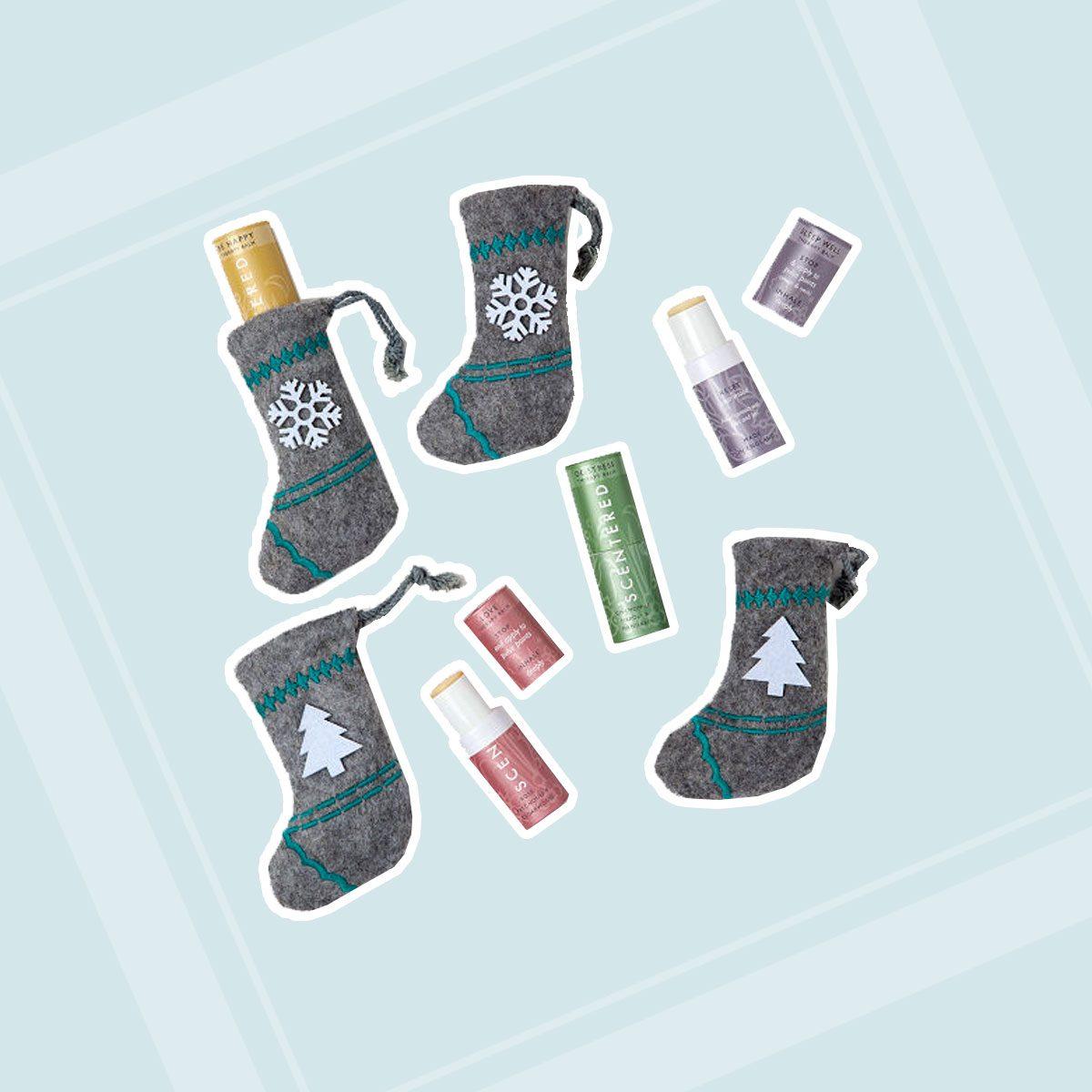 Aromatherapy Balm Stocking Stuffer & Ornament