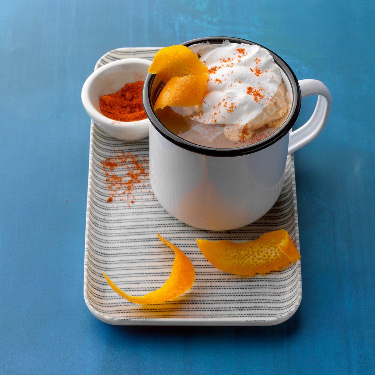 Chili-Orange haute chocolate