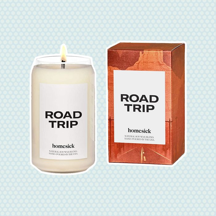 Homesick Scented Candle, Road Trip (2020 Version)
