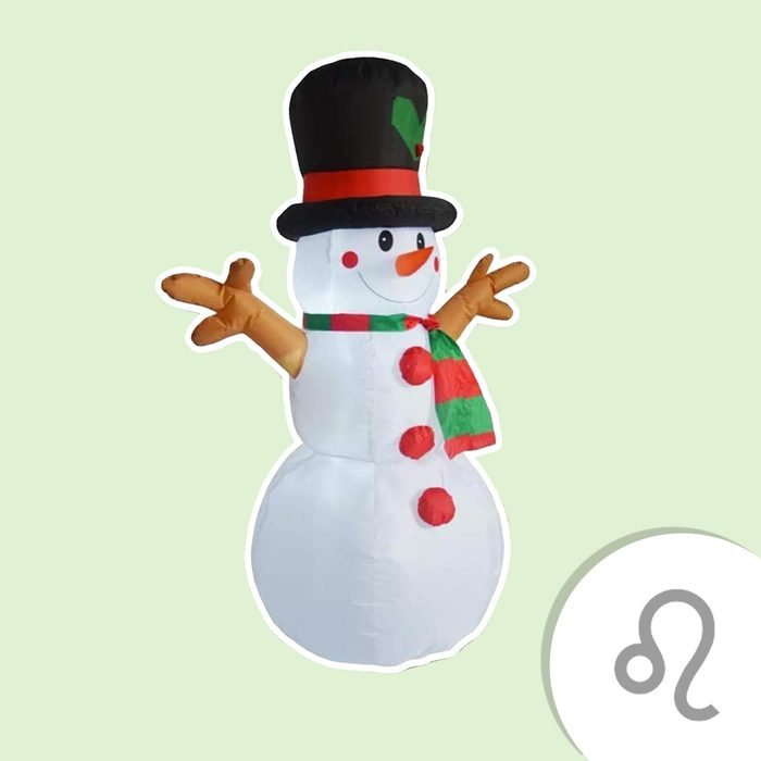 Inflatable Snowman Christmas Outdoor Decoration