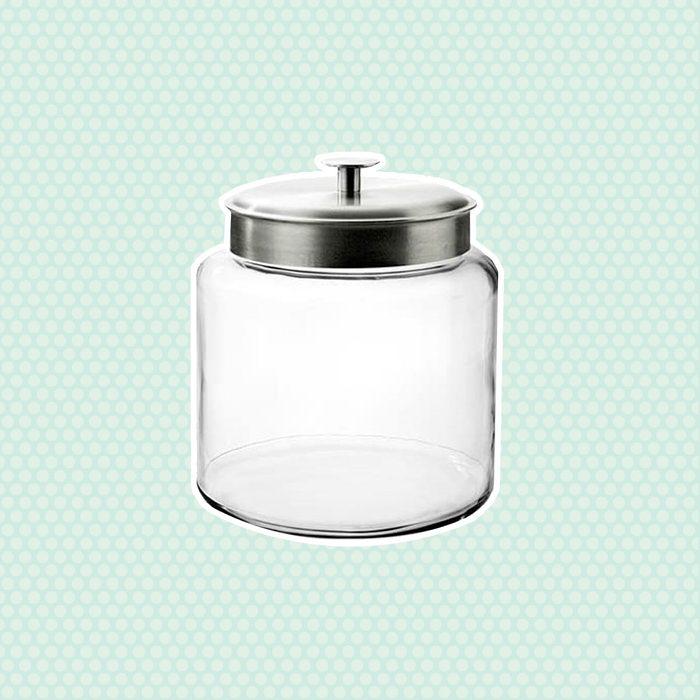 Montana Jar with Brushed Metal Lid, 1.5 Gallon