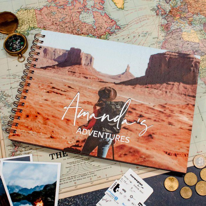 Personalised Travel Scrapbook