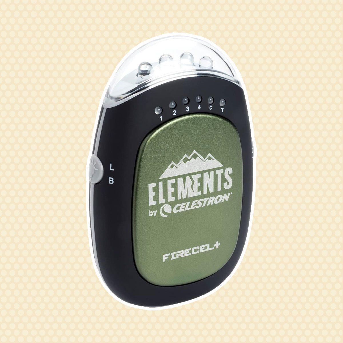 Celestron FireCel Plus - Hand Warmer/Charger/Flashlight, Green (93544)