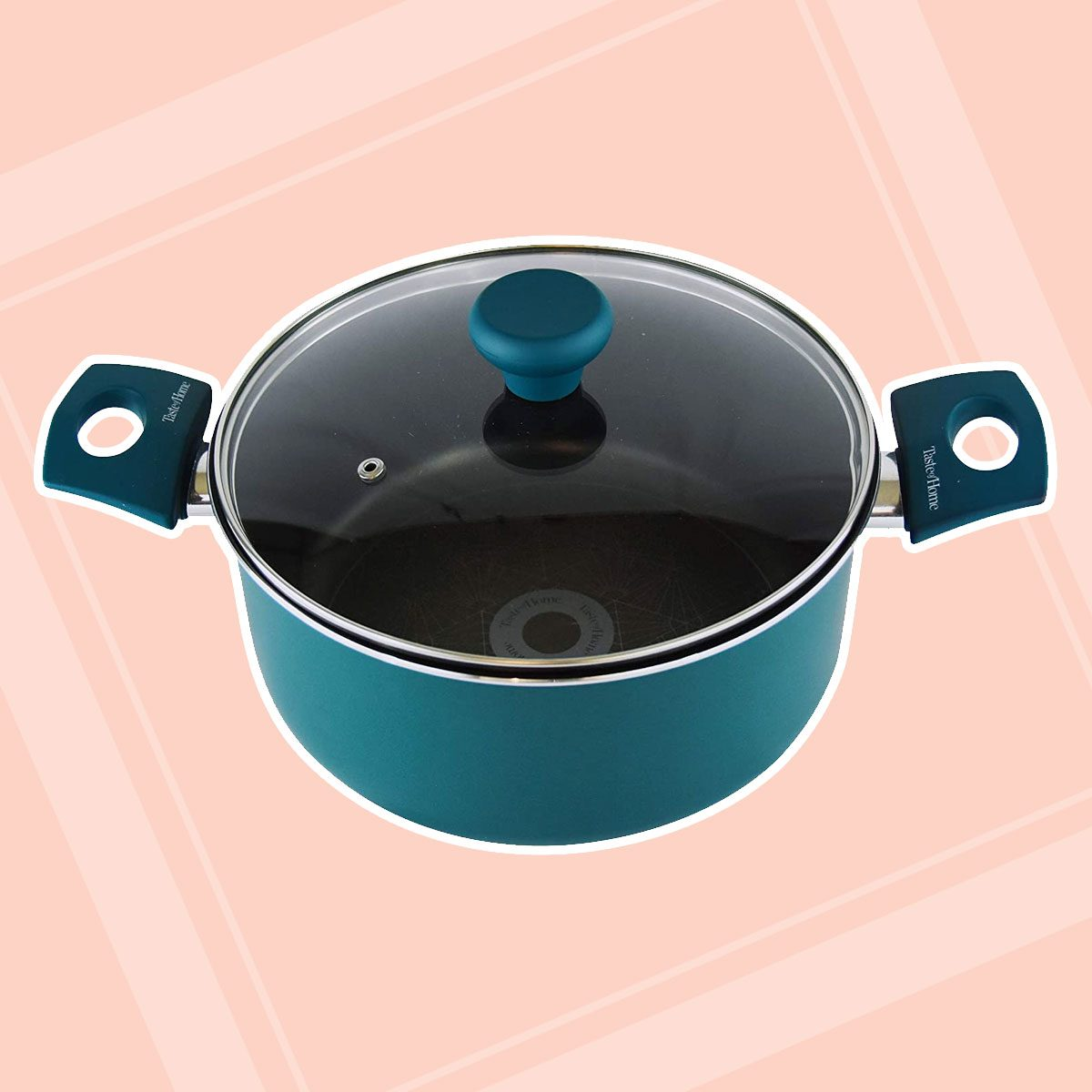 Taste of Home 5-Quart Non-Stick Aluminum Dutch Oven with Lid