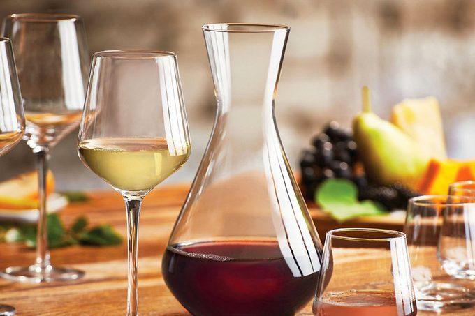 Wine Enthusiast 13-Piece Entertainment Glassware Set