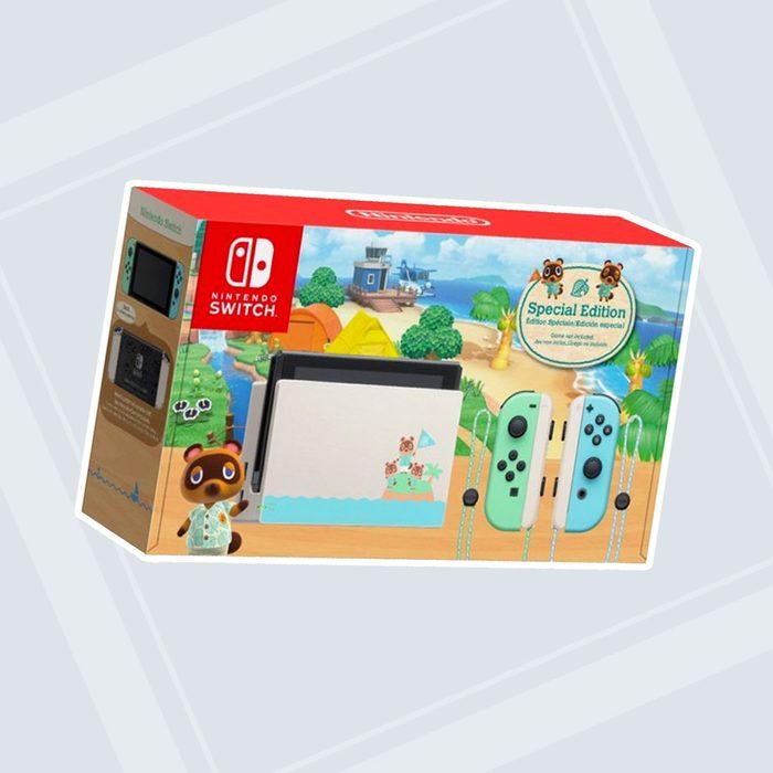 Nintendo - Switch - Animal Crossing: New Horizons Edition 32GB Console - Multi