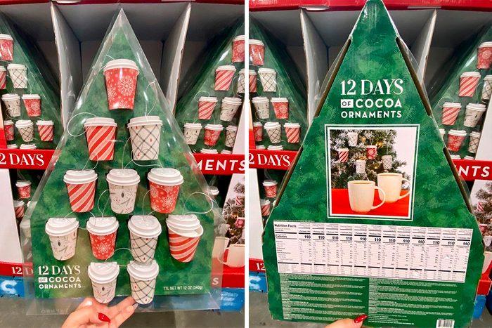 Costco Hot Cocoa Ornament set