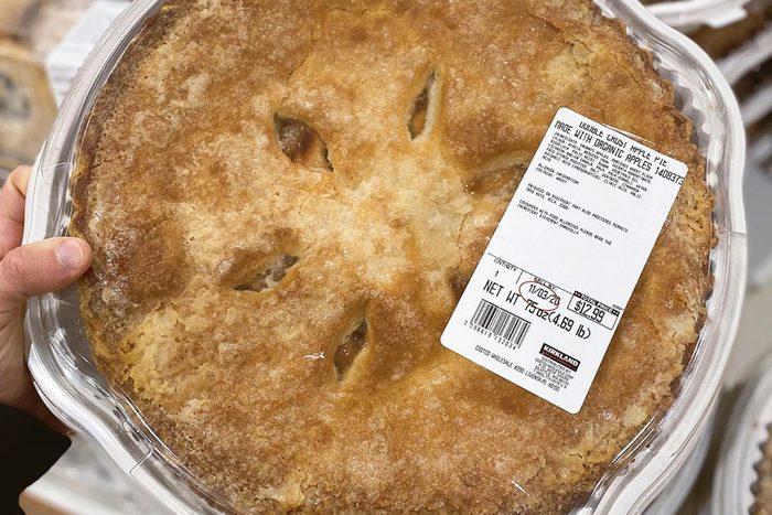 Costco Giant Apple pie