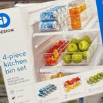 Costco's Famous 4-Piece Kitchen Bin Set Is Back Just in Time for the Holidays!