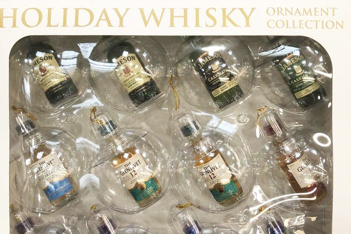 Costco NEW Holiday Whisky ornament collection
